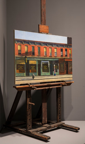Art Review of Hopper's exhibition in The New York Times