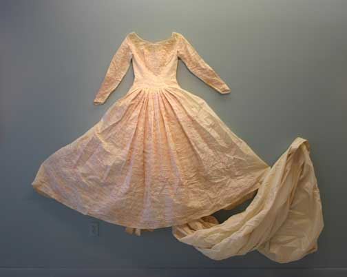 "Jenny Humphreys ""Everything I Own"" embroidered wedding dress, Gallery Ehva"