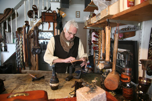 Victor Powell, artist and craftsman in Provincetown, Massachusetts