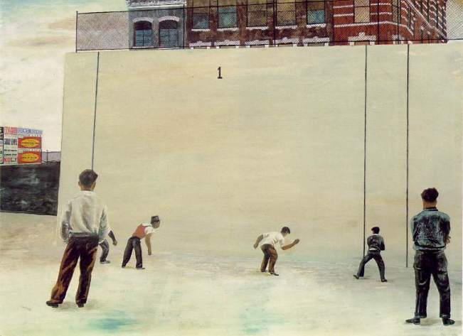 Painting by Ben Shahn